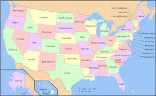 map of all states in us mind the other gap