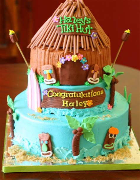 tiki hut valentine box 17 best images about graduation luau party on pinterest