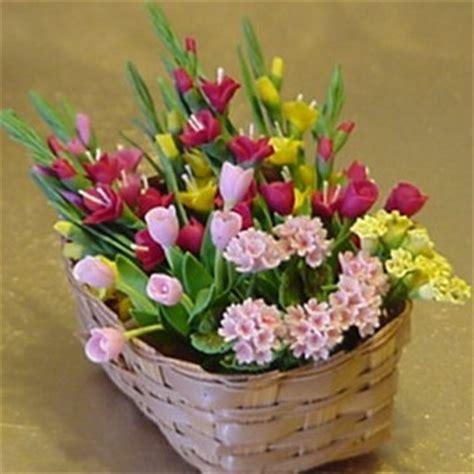 miniature flowers plants  doll house