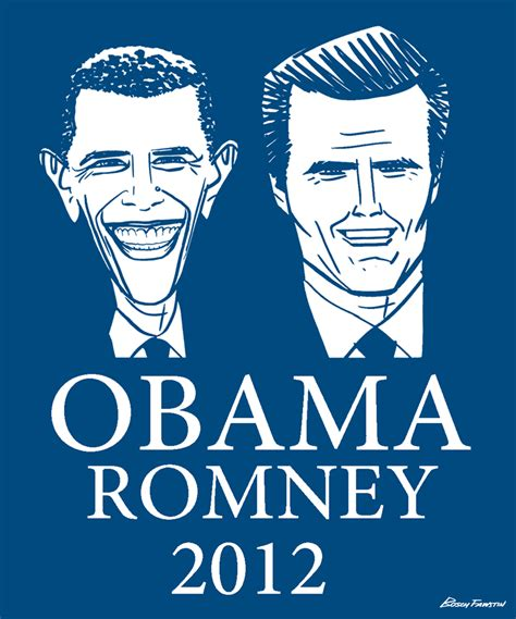 Mitt Romney Vs Barack Obama Essay by Bosch Fawstin Obama Romney 2012
