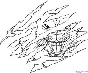 gallery gt lion claws drawing