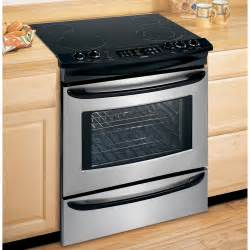 Sears Electric Cooktop Kenmore 4669 30 In Slide In Electric Range Sears Outlet