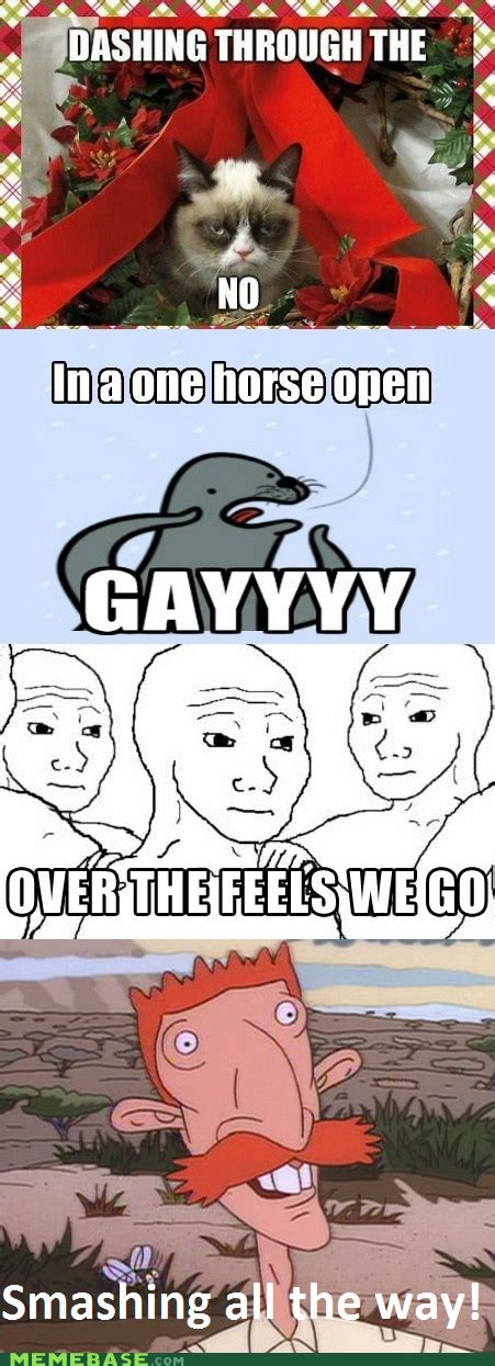 Gay Christmas Memes - a very meme christmas