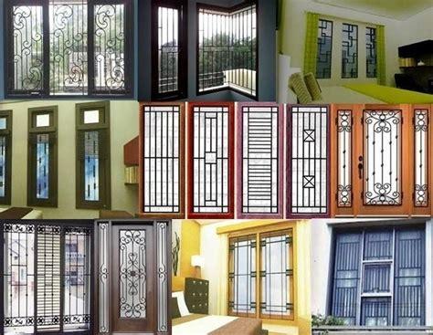 perpaduan warna cat kusen pintu jendela rumah minimalis  bagus