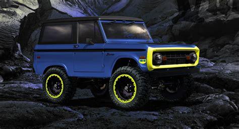 Kaos Otomotif Mobil Ford Bronco modifikasi ford bronco akan til secara perdana di sema