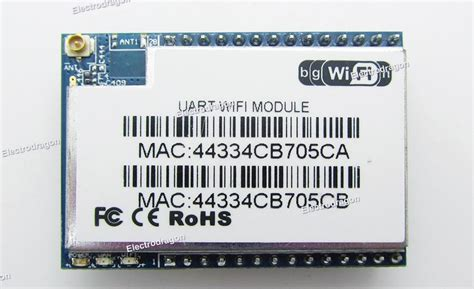 Produk Uart Wifi Module Serial retired wi04 wifi module wifi ethernet serial uart electrodragon