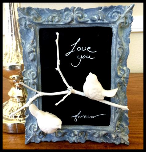 diy vintage home decor vintage chalkboard frame diy home decor favecrafts com