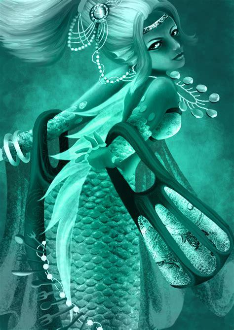 Mermaid Tosca mermaid of avarice wip by tosca on deviantart