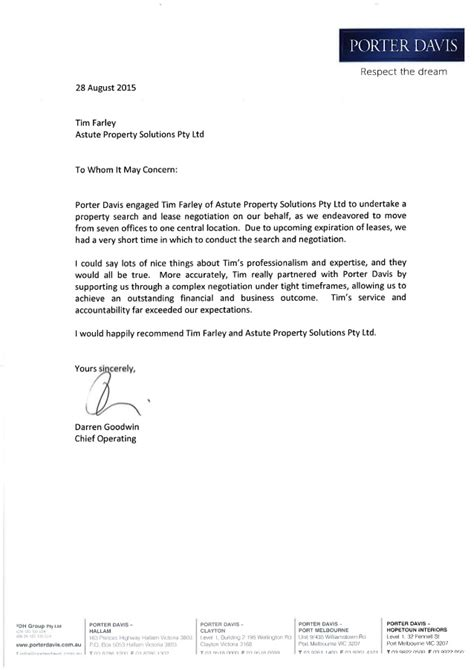 thank you letter to client exle thank you letter to client for recommendation 28 images