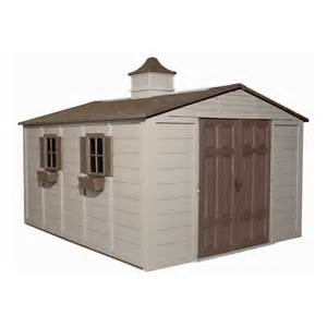 suncast 10 ft x 12 1 2 ft gable storage shed lowe s canada