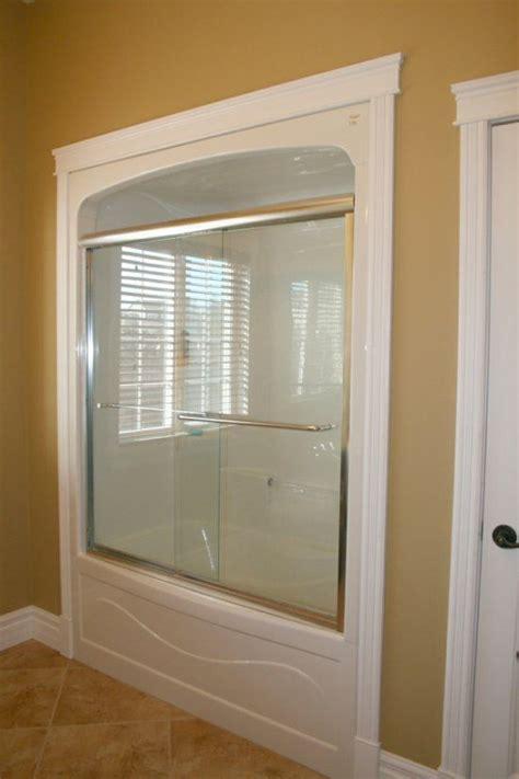 tub shower enclosures one piece framed bathroom