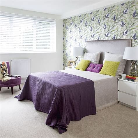 purple and green bedroom purple and green modern bedroom decorating housetohome