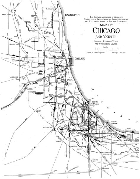 chicago railroad map file 1913 chicago railroads jpg wikimedia commons