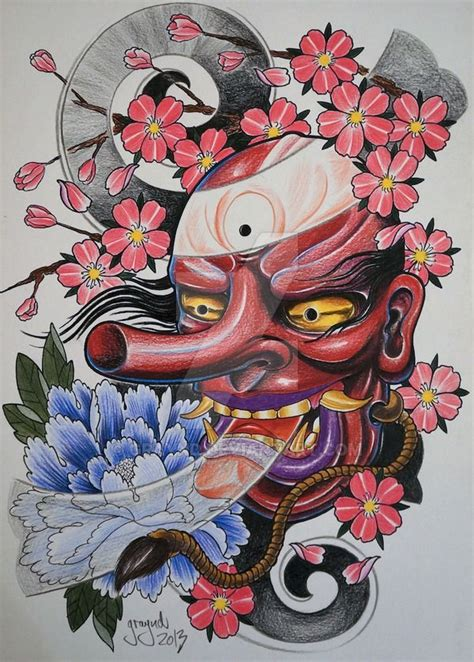 tengu tattoo designs best 25 tengu ideas on oni