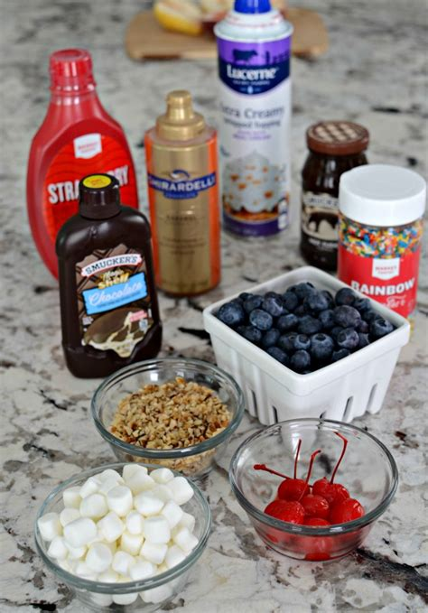 toppings for ice cream sundae bar ice cream sundae bar toppings simply darr ling
