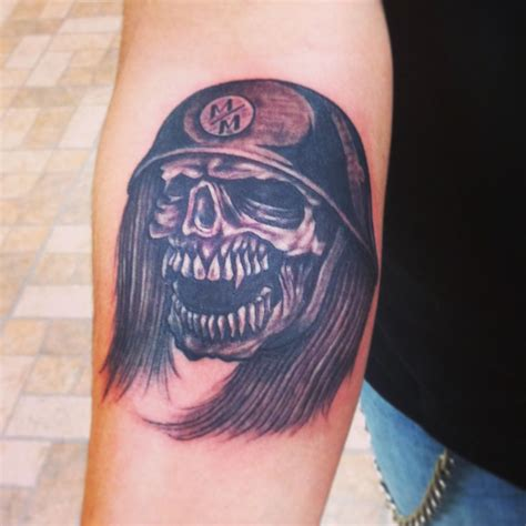 metal mulisha tattoos skull metal mulisha by dom tattoos