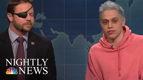 pete davidson youtube dan crenshaw dan crenshaw lends helping hand to pete davidson nbc