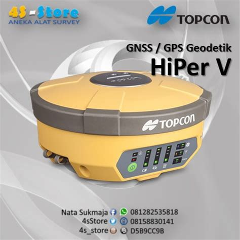 gps geodetik / gnss receiver – 4s store surveying
