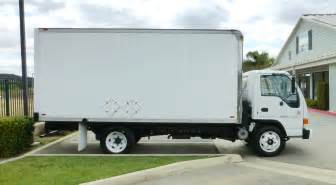 Isuzu Box Trucks 2000 Isuzu 16 Box Truck