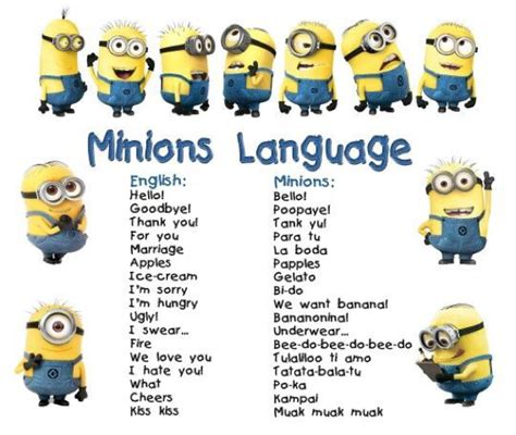 how to to speak how to be a minion how to speak like a minion