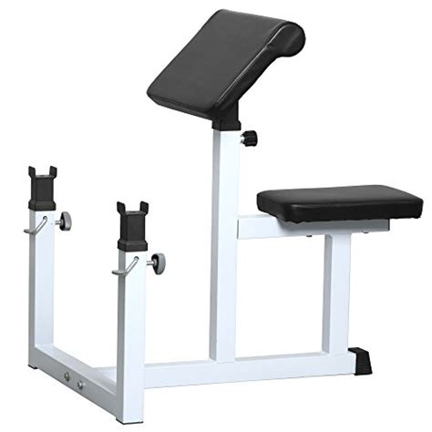 bench machines yaheetech arm curl bench machine seated commercial
