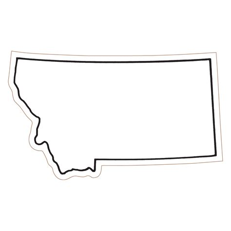 clipart montagna blank map of montana clipart best