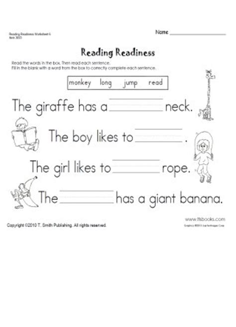Reading Readiness Worksheets by Free Reading Readiness Worksheets For Kindergarten 9 Best Images Of Kindergarten Literacy