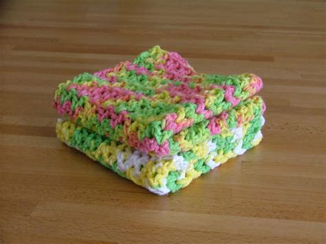 Craftdrawer crafts free pattern friday crochet dishcloths sewing organizers free printables