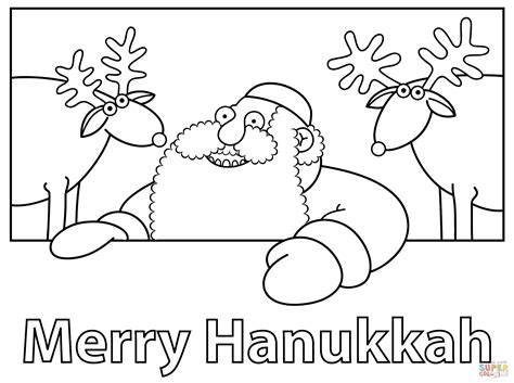 free hanukkah coloring pages printable coloring home