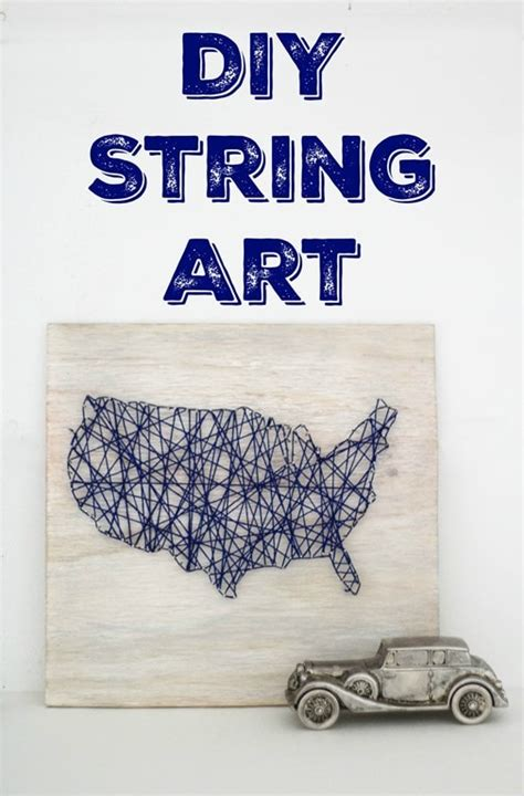 Diy String Map - diy map string lovely etc