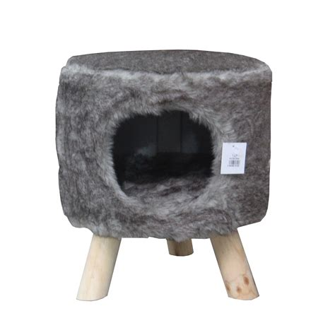 Cat Has Stool by Kokoba 2 In 1 Cat Stool Bed Petmeds Co Uk