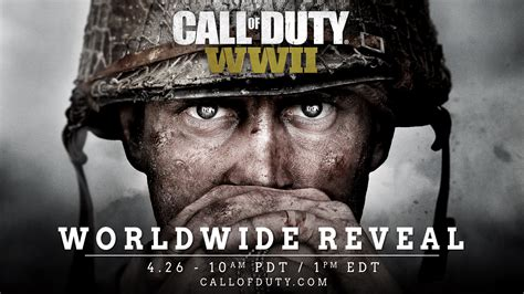 Call Of Duty 26 call of duty wwii officially confirmed worldwide reveal