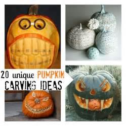 20 unique pumpkin carving ideas c r a f t