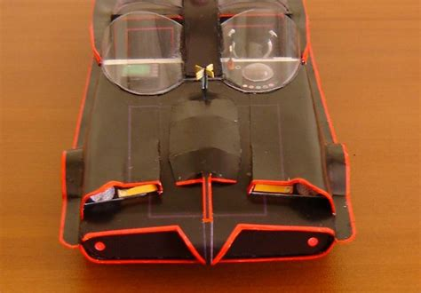 Batmobile Papercraft - 1966 batmobile paperinside