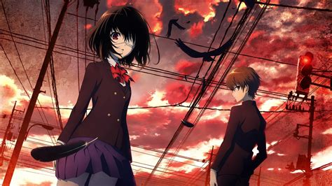 Anime Another | crimsonhappinesshour another anime review impressions