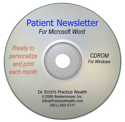 Patient Newsletter chiropractic products chiropractic coaching