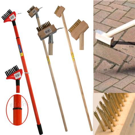 Patio Scraper by 2 In 1 Hardwood Wire Patio Brush Deck Block Paving