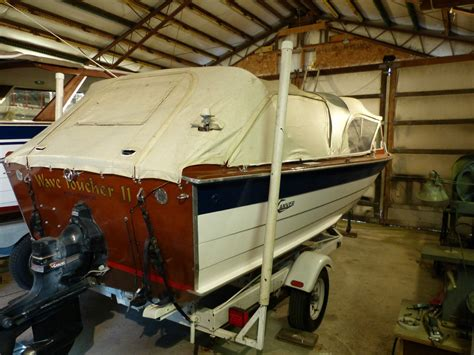 carver wooden boats carver classic wood boat nr 1965 for sale for 6 250