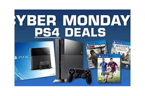 best ps4 game deals cyber monday