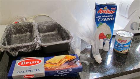 alat membuat whipped cream kreasi dapur iis sukendar homemade ice cream ketan hitam