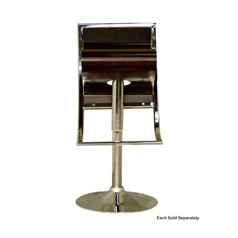 wholesale bar stool wholesale interiors adjustable swivel bar stool brown bs