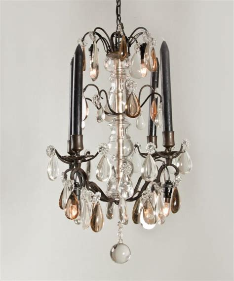 Small Black Chandeliers Small Model Black Chandelier With Candles Fineantiquechandeliers