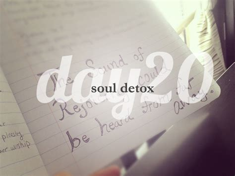 And Soul Lenten Detox by Day 20 She Reads She Reads