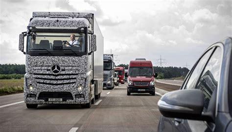 mercedes benz self driving future truck completes its