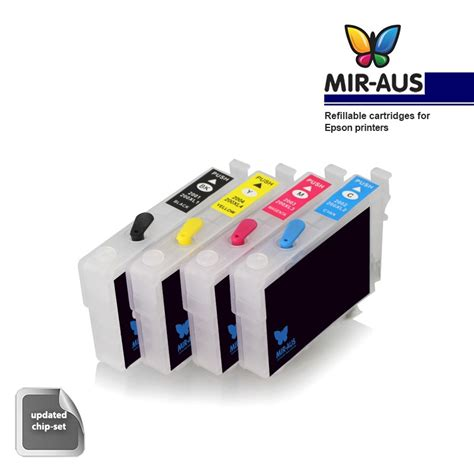reset epson xp 400 ink cartridge pigment refillable cartridges for epson expression home xp 400