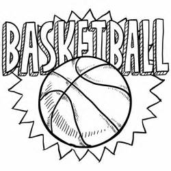 basketball coloring page free coloring sheet of basketball for kindergarten