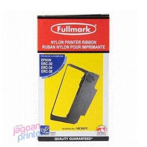 Pita Epson Kasir Erc 30 34 38 Fullmark N636pe jual ribbon erc 38 black fullmark murah garanjual