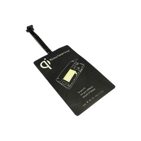Wireless Charging Receiver Vztec Universal Micro Usb T1910 6 universal qi wireless receiver module w micro usb black free shipping dealextreme