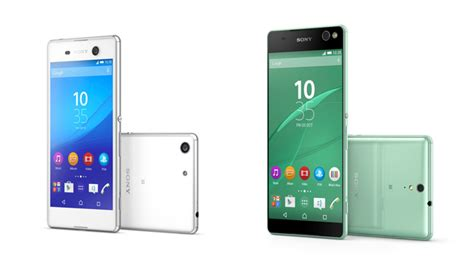 Hp Sony Ericsson M5 sony launched 2 smartphones xperia m5 and xperia c5 ultra