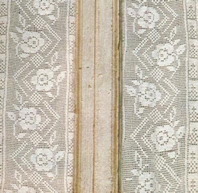 tende a vetro all uncinetto schemi per il filet tendine a vetro con i fiori paperblog